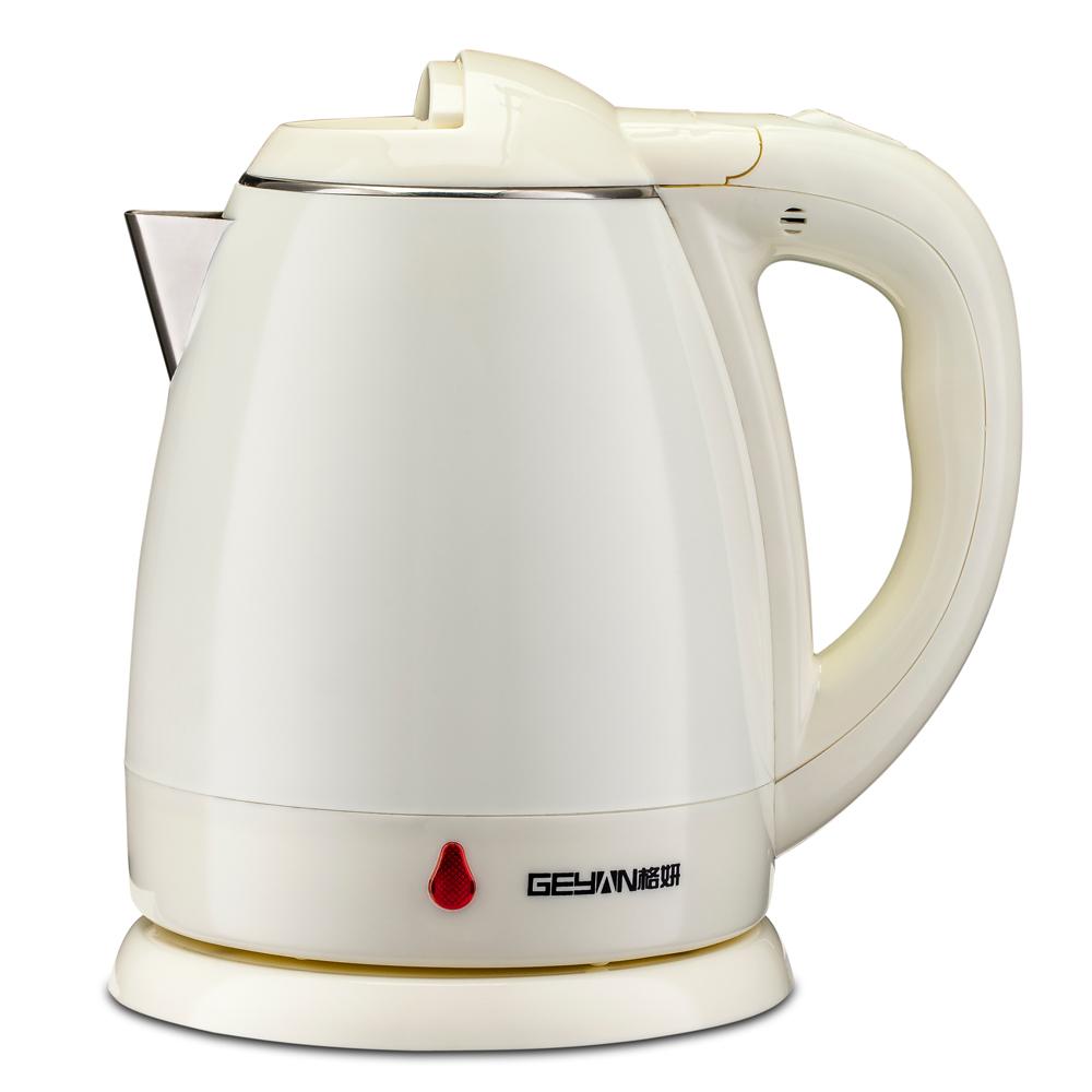 格妍电热水壶 RH1261双层保温防烫电热水壶快速烧开电水壶小家电