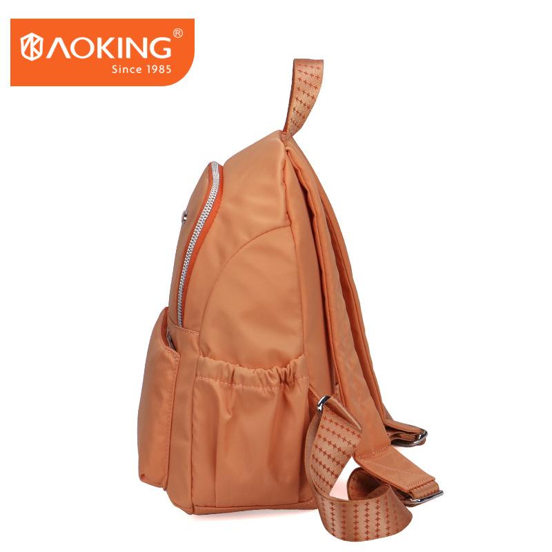 奥王aoking尼龙布艺女包专柜产品轻便女士包包批发双肩包帆布图片