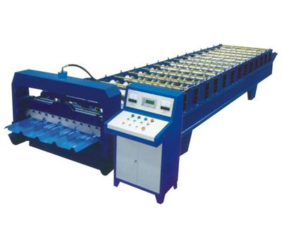 该机主要由进料导入平台,成型主机,成型剪切装置,液压站,电脑控制图片