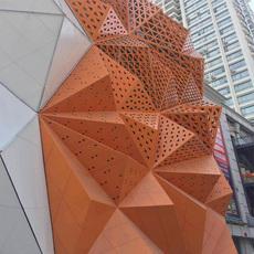 贵州铝天花铝单板幕墙,造型铝单板,乐斯尔品牌生产厂家