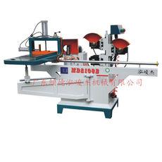 广东木工机械设备锯片机MD2108B单轨气动五碟出榫机木工开榫机