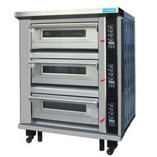 广州新麦SK-623三层六盘电烤箱 面包店专用烤箱