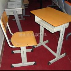 升降课桌椅生产厂家 钢木课桌椅价格 防火板课桌椅批发 学校家具图片尺寸定做