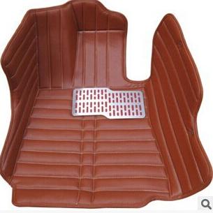 供应纯手工手缝全覆盖全包围汽车脚垫高档皮革超纤皮 大包围 汽车脚垫