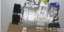 供应奥迪Q7冷气泵,起动机,电子扇,原装拆车件