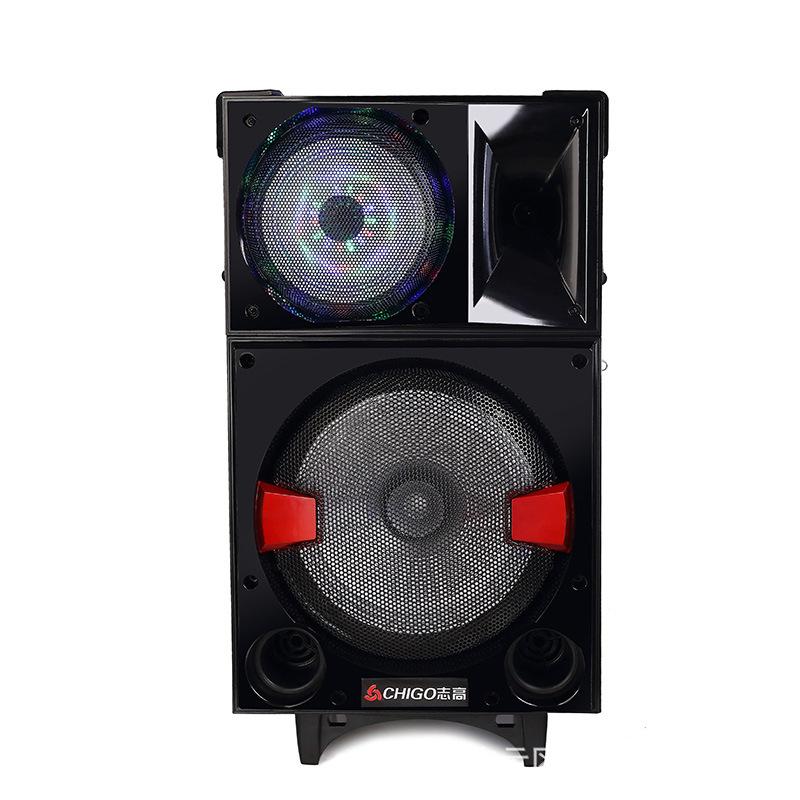 电子元器件 集成电路 音响ic 志高10寸户外蓝牙音箱多功能移动广场舞