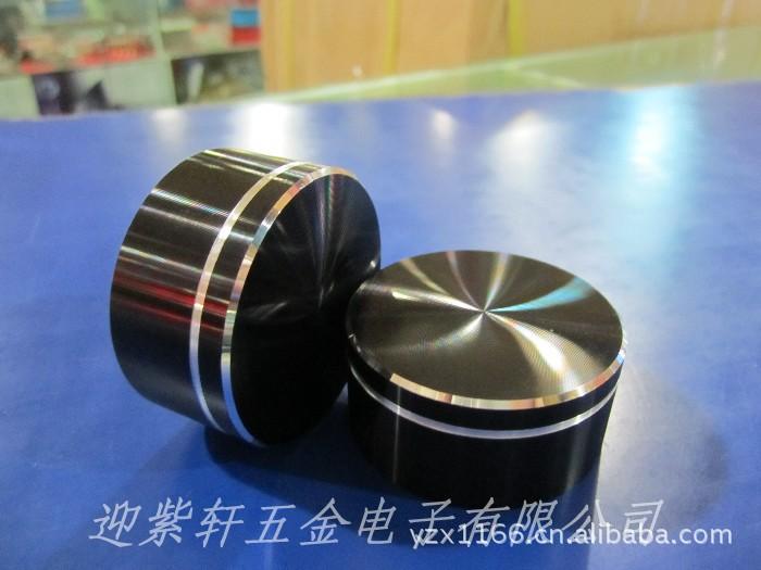 铝合金旋钮 30x17 编码器旋钮  CD纹高光旋钮