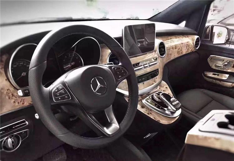 西安奔驰V260内饰改装 品质与品位都在座驾体现