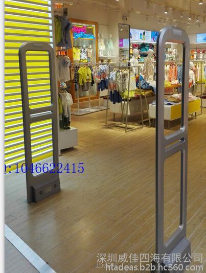 性能稳定,宽门距服装超市防盗门,声磁服装超市防盗系统HTA-S010