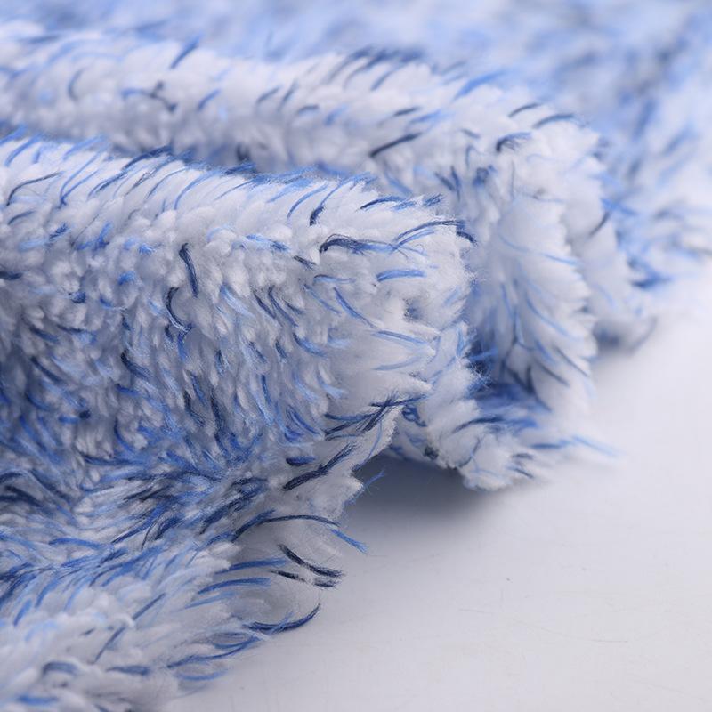 厂家定制 秋冬服装玩具家纺绒布面料 230g彩色舒棉绒特价订单定制