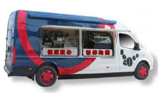 纯电动健康早餐车