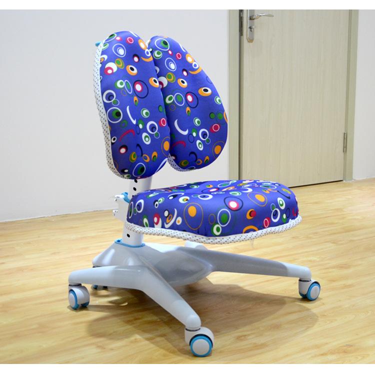 【厂家直营】双背设计七巧板儿童可升降矫正坐姿工学椅小学生坐.