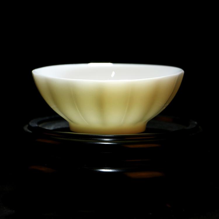 供应 高性价比陶瓷杯 十六瓣杯 中式复古风格 家居摆设 物美价廉