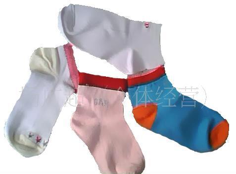 便宜库存袜子批发-儿童袜0.38元每双