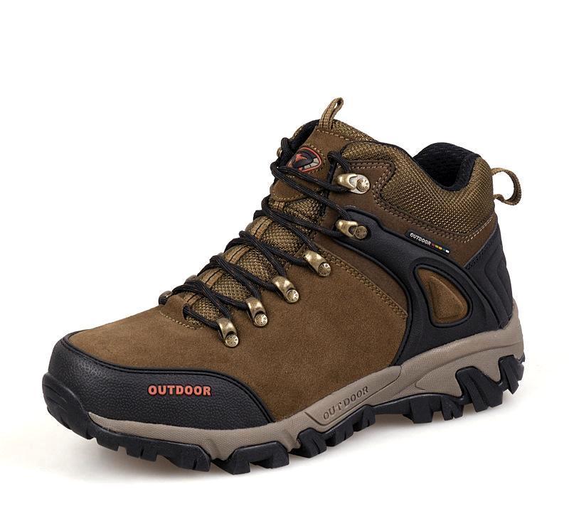 新西狼高帮登山鞋 男 正品 徒步鞋 户外鞋保暖男鞋防水户外登山鞋
