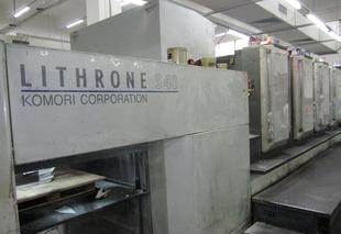 2004年小森LS-440对开四色胶印机