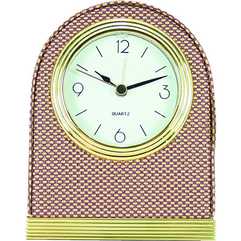 外贸定制酒店闹钟时钟 欧式实木客房钟复古床头座钟 台钟时钟钟表图片