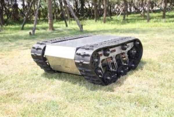 山东履带机器人底盘