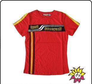 大童 少年装 正品乔克亚迪2012夏装新款 女款T恤083