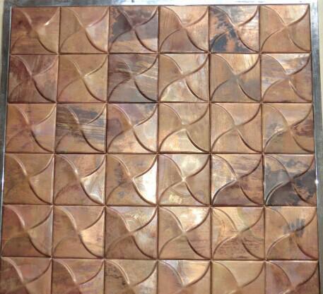 【厂家】古铜马赛克,金属马赛克,纳米马赛克,欧美复古风格马赛17