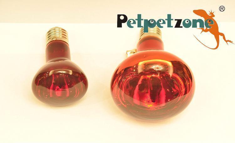 Petpetzone爬虫红外加热灯 宠物取暖灯R95 150W厂家直销 大量批发
