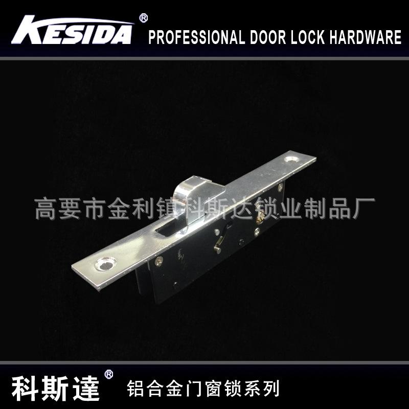 厂家直销 铝合金门窗锁 窗户执手锁 门窗把手锁 玻璃推拉门锁1863