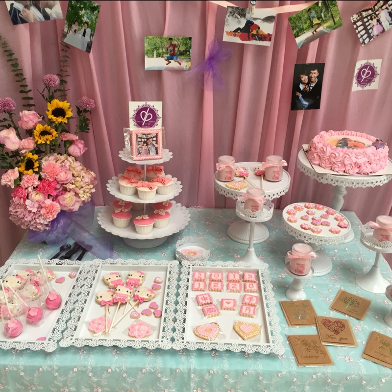 铁艺蕾丝蛋糕盘铁艺点心架蛋糕架婚礼甜品台摆件蛋糕架12件套装图片