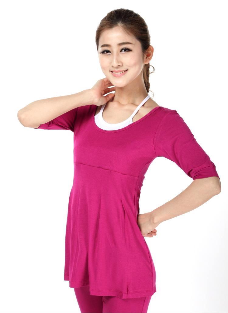 2013新款夏季速度韩版电机套装健身服休闲服女士瑜伽服体操时尚v速度图片