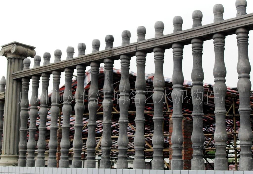 罗马柱系列产品之 围墙栏杆图片