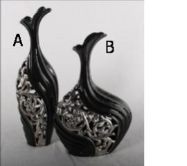 电镀镂空陶瓷花瓶(YX009A YX009B)