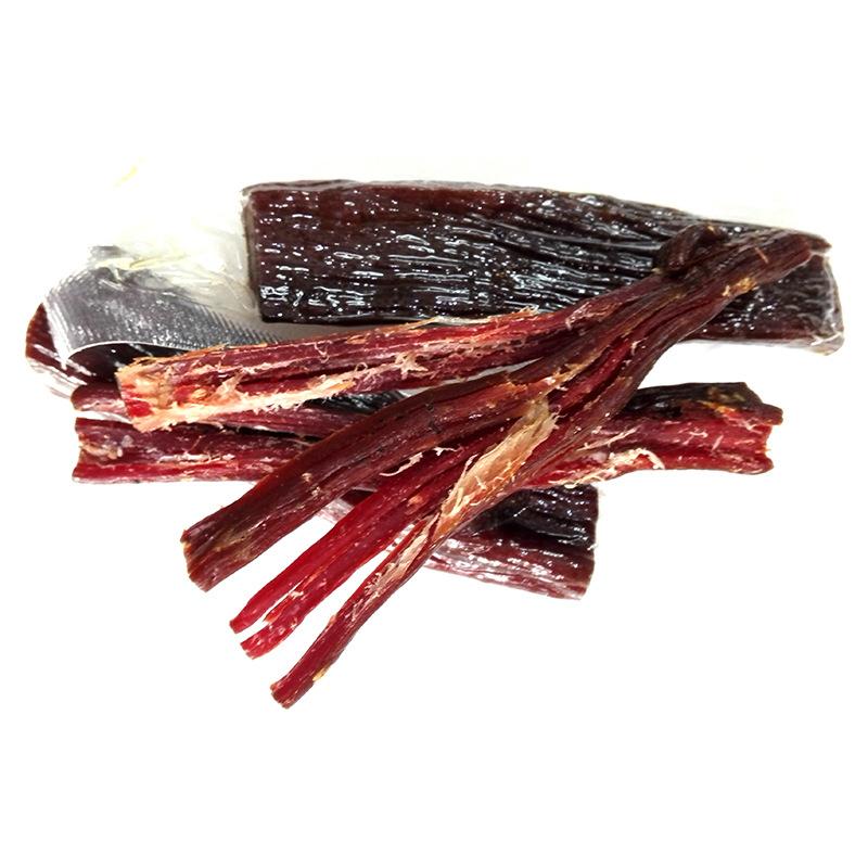 一件代发 四川阿坝州特产食品红原散装手撕风干牛肉干五香味500g