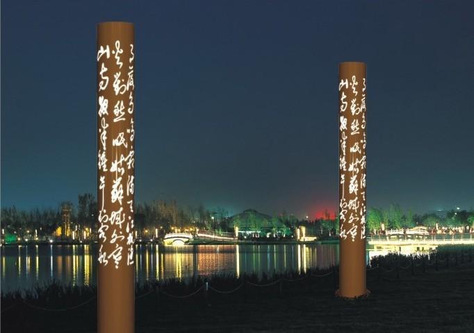 供应工程景观灯 广场景观灯 透光灯柱 特色景观灯 园林灯具图片
