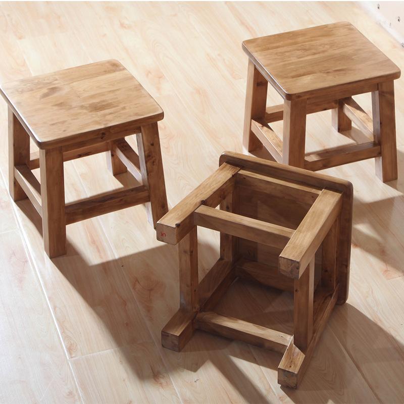 宏友木小凳子 创意实木儿童凳 幼儿园椅子宝宝椅小板凳批发图片
