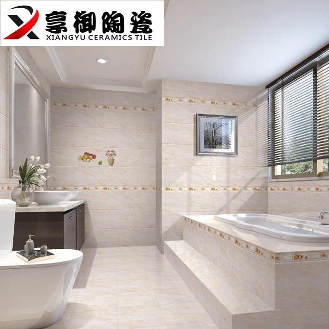 300600佛山厂家批发 不透水瓷片内墙砖 厨房卫生间瓷砖