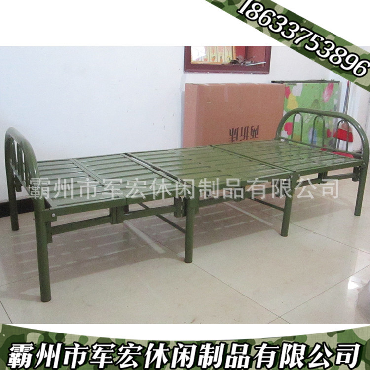 厂家直销六士兵行军床折床床便携式折叠床欢迎来电v厂家4mm纯棉三股扭绳图片