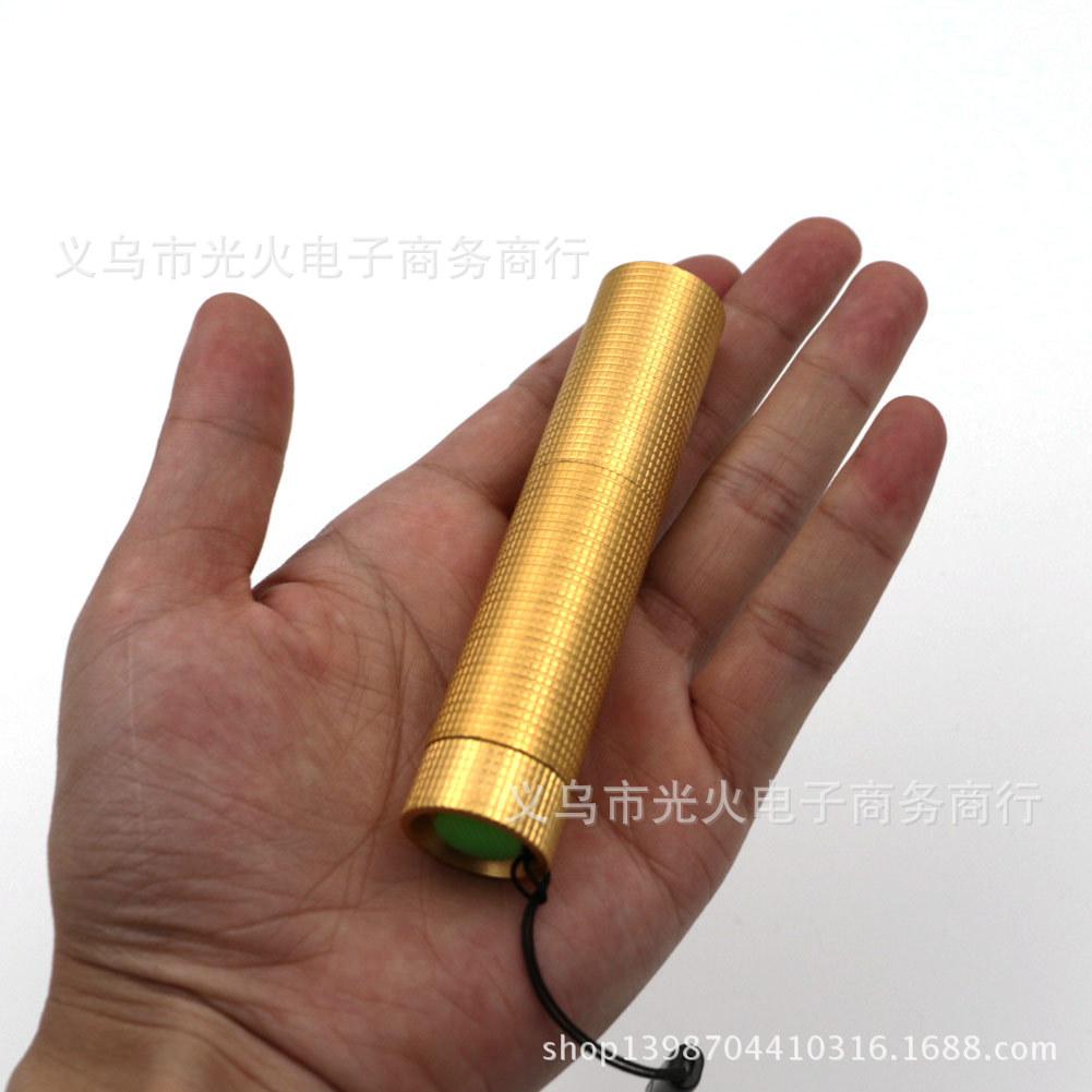 厂家批发 迷你紫光手电筒 荧光剂检测LED手电筒 女生UV小手电