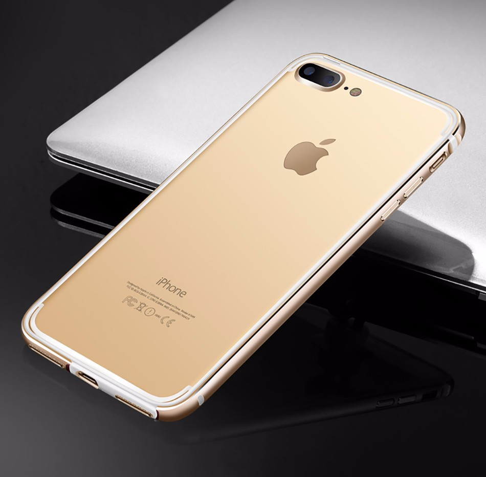 性感6plus手机壳六4.7硅胶苹果框手机套iphone6新款外壳潮一字领小金属图片