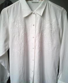 古着 vintage 刺绣镂空 白衬衫