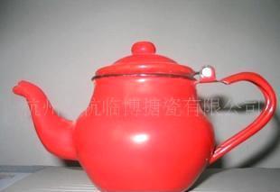 搪瓷茶壶,小圆壶 搪瓷制品5