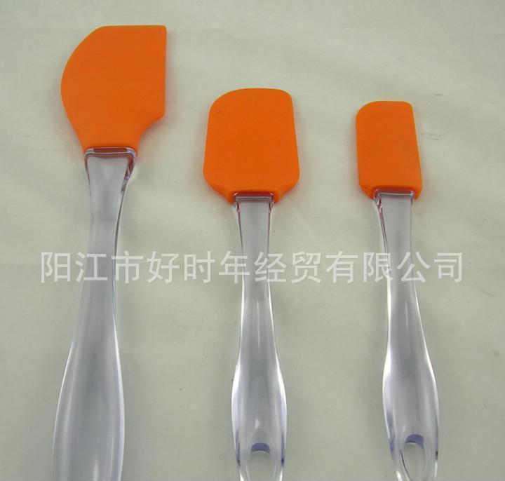 供应优质3件套硅胶牛油刀