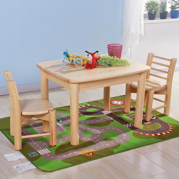 厂家直销松木家具儿童写字桌桌子简约特价批发