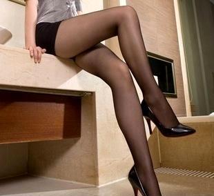 梦娜品彩正品3292超薄15D 包芯丝丝袜性感连裤袜 脚尖全透明批发