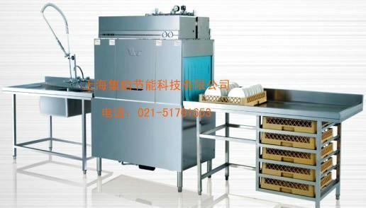 威顺商用通道式洗碗机R-1E 单道喷淋 内置电加热 批发 指导安装
