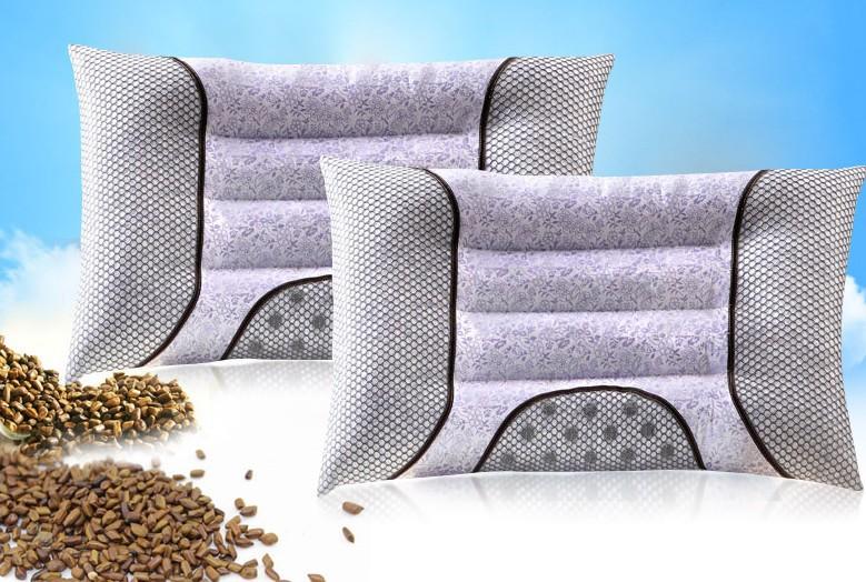 大公鸡家纺 决明子保健枕芯 薰衣草荞麦药包枕 所有款式均可定制