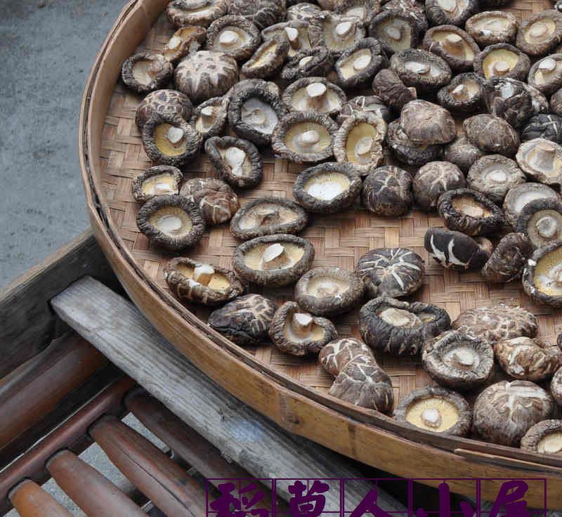 福建古田大花菇土特产农家花菇香菇干货大个肉厚嫩煲汤2