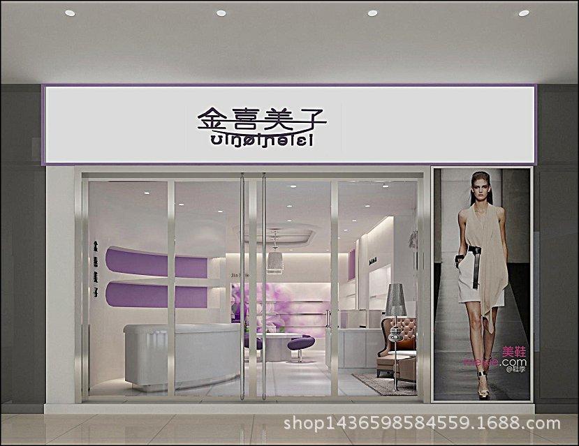 专业供应 鞋店鞋展示柜 精品烤漆鞋柜 定做店铺鞋子展示柜