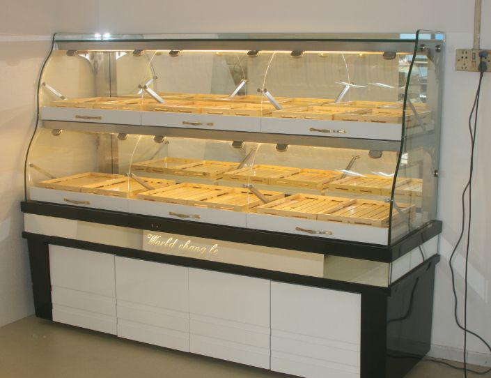 新品面包柜木制面包陈列柜抽屉式面包柜展示柜烘焙展示4