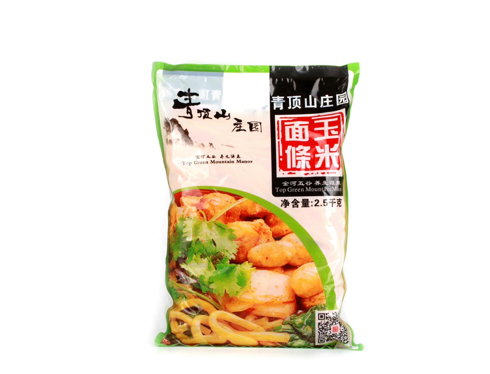 面食 金丝玉米速食面玉米面条2500g健康面条杂粮米面特产挂面批发1
