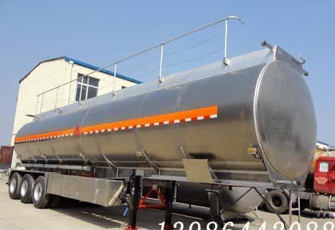 铝合金罐式运输半挂车49立方
