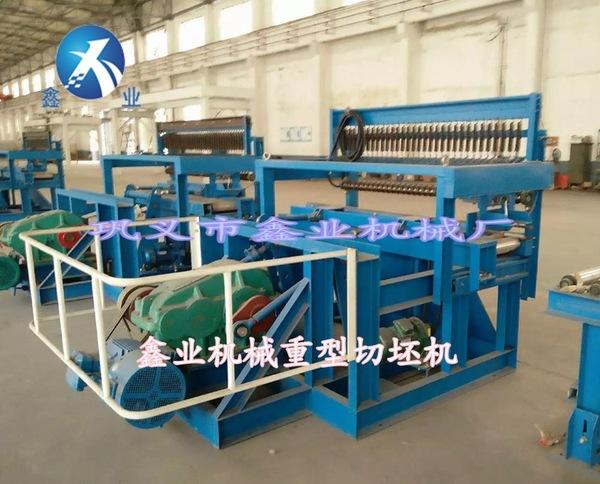 元旦厂家大优惠 山东硬泥条砖厂专用重型液压全自动切坯机